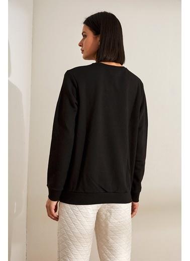 Setre Sweatshirt Siyah